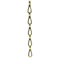 109 (13mm) Polished Brass Chandelier Chain