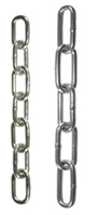 DIN5685 Hot Galvanised Steel Welded Chain by the metre