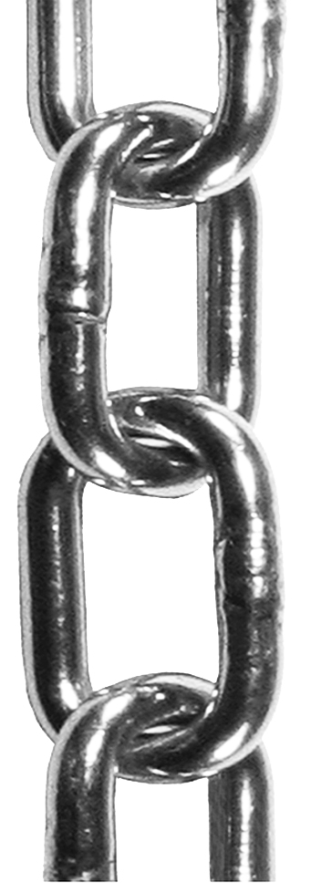 5 x 21mm Zinc Plated Steel Welded Chain