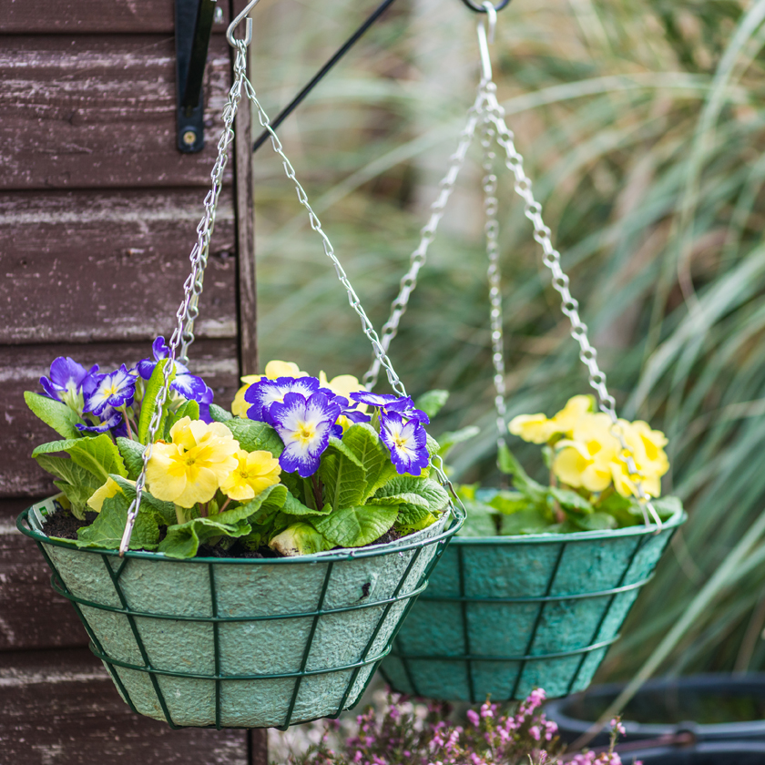 Zinc Plated Hanging Basket Chain