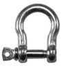 Hot Galvanised Steel Bow Shackles